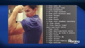 Could you keep up with Mark Wahlberg's daily routine?
