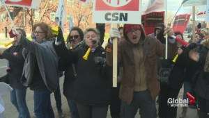 Quebec teachers hold two-day strike