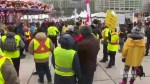 Paris Yellow Vest protests extend to Toronto, several other Canadian cities