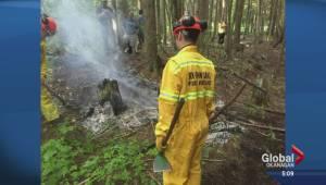 Residents take action over suspicious fires near Vernon (02:33)