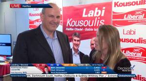Nova Scotia election: Liberal Labi Kousoulis elected in Halifax Citadel-Sable Island (03:49)