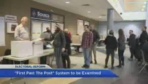 Electoral reform in the form of the first-past-the-post system