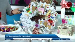 DIY Decorating for the holidays with Tiffany Pratt