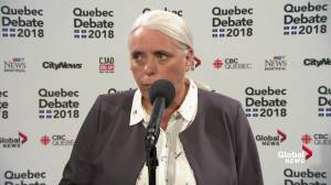 Quebec Solidaire's Manon Masse: English minority rights will be respected