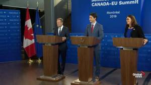 Trudeau, Tusk asked about safeguards against 'populist' governments