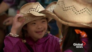 'Giddy Up Grits' offers children with special needs a fun day at Calgary Stampede