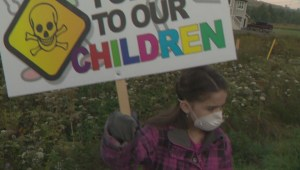 Residents rally against quarry, citing health concerns