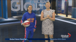 Balling with Harlem Globetrotter Briana 'Hoops' Green