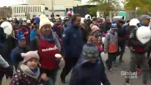 Walkers hit the streets for fourth edition of La Grande Marche