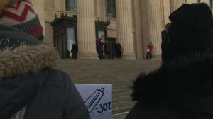 Winnipeggers brave extreme cold warning for 3rd annual Women's March