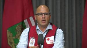 Red Cross speaks about contingency plans for extended evacuations (01:30)
