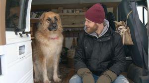 Saskatoon man calls van home