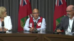 Canadian Red Cross VP provides update on evacuations, need for planes (01:44)