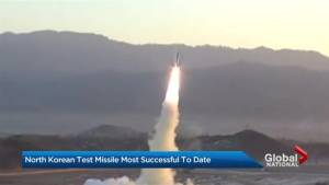 North Korea launches its most successful missile test to date