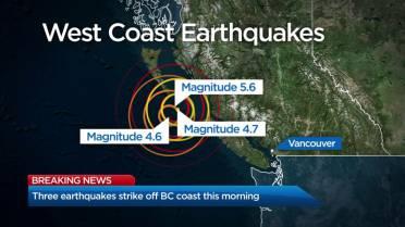 5 6 magnitude earthquake strikes near Bella Bella, B C , no