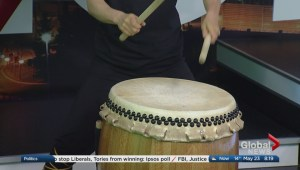 Uzume Taiko performs at 2018 Calgary International Children's Festival