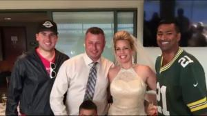 Shanel Pratap and Jay Durant crash wedding in Green Bay