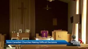 More Canadian churches shutting down as attendance dwindles
