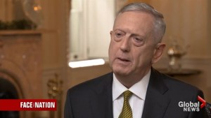 James Mattis talks North Korea, President Trump's international trip