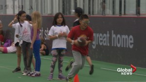 Calgary charities jump start athletic fun for disadvantaged kids