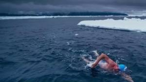 Arctic swim nearly kills man trying to protect oceans