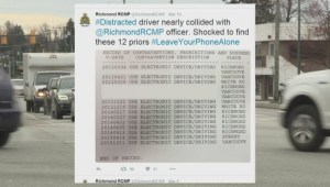 Richmond woman gets distracted driving charge 14 times