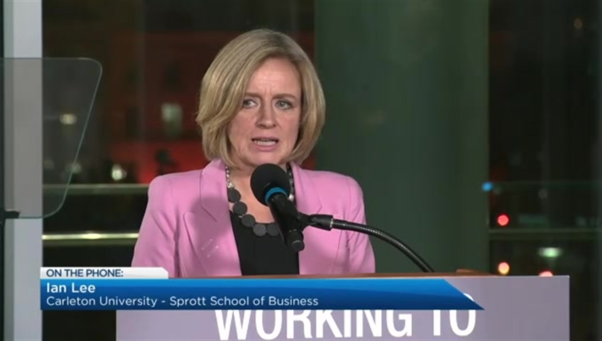 Alberta premier announces the province is cutting oil production