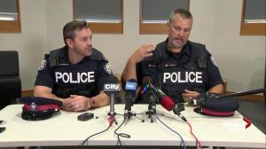 Toronto cops describe moment men trapped in flooded elevator are freed