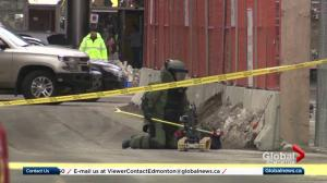 Suspicious package prompts Edmonton Tower evacuation