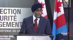 88 Fighter jets, 15 combat ships to be purchased as part of new defence policy: Sajjan