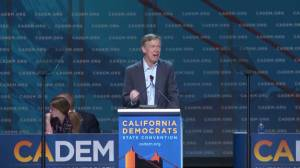 Democratic presidential hopeful Hickenlooper gets booed at California convention over socialism comments