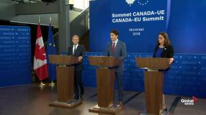 Trudeau, Tusk feel encouraged that 'populism' situation is 'under control'