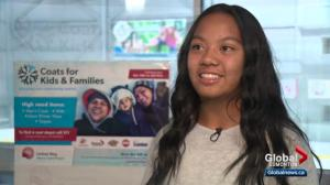 Our YEG At Night: Edmonton teen teams up with Coats for Kids initiative