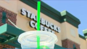 Starbucks to ban plastic straws, but can't recycle all cups