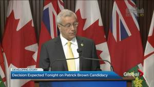 Patrick Brown under scrutiny by Ontario PC Party nomination committee