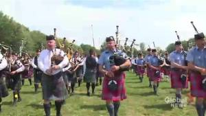 Scottish tradition lives on at Montreal Highland Games