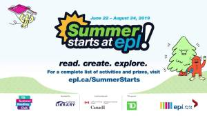 Summer programming at Edmonton Public Library
