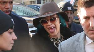 Cardi B learns of Grammys nominations while leaving courthouse