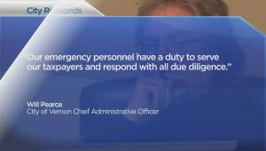 Vernon told to reinstate fired fire department staff (02:25)