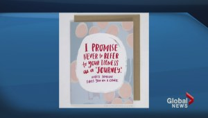 Cancer survivor designs cards she wishes she'd received from friends and family