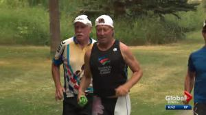 Edmonton cancer patient takes on gruelling challenge