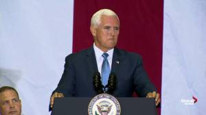 'We're going back': Pence says U.S. will return to moon within 5 years