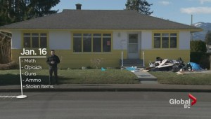 Police raid suspected Chilliwack drug house where man was killed
