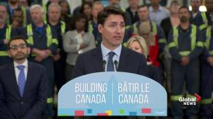Trudeau: Ontario does not want cities to get infrastructure funding