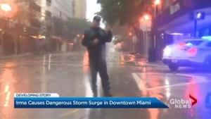Miami feels the force of Hurricane Irma