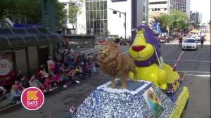 2018 K-Days Parade from downtown Edmonton