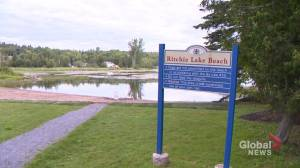 Blue-green algae risk at Quispamsis lake
