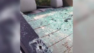 Two vehicles shot at with paintball gun in Port Moody