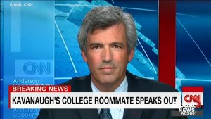 Brett Kavanaugh's roommate says he lied under oath about his drinking