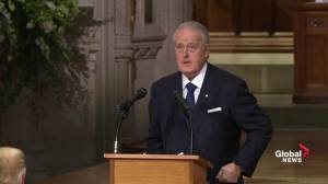Brian Mulroney remembers George H.W. Bush for courage, principle and honour